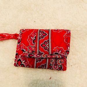 Vera Bradley compact wallet retired style